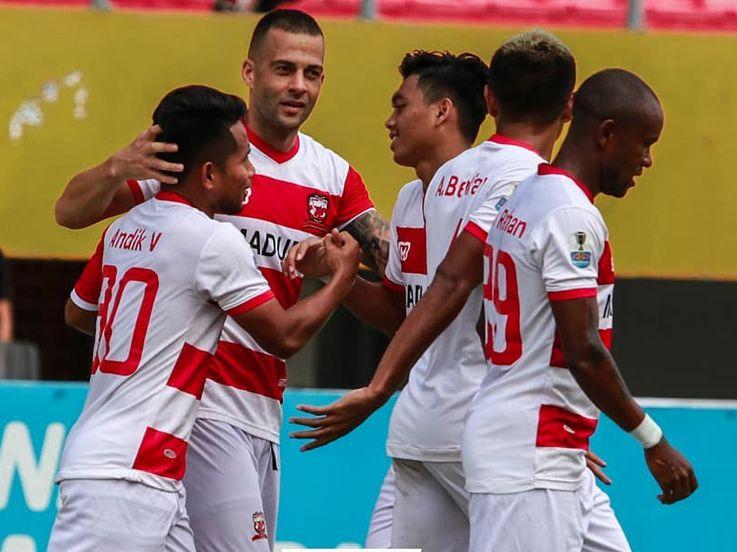 Hasil Pertandingan Kratingdaeng Piala Indonesia: Sriwijaya FC vs Madura United