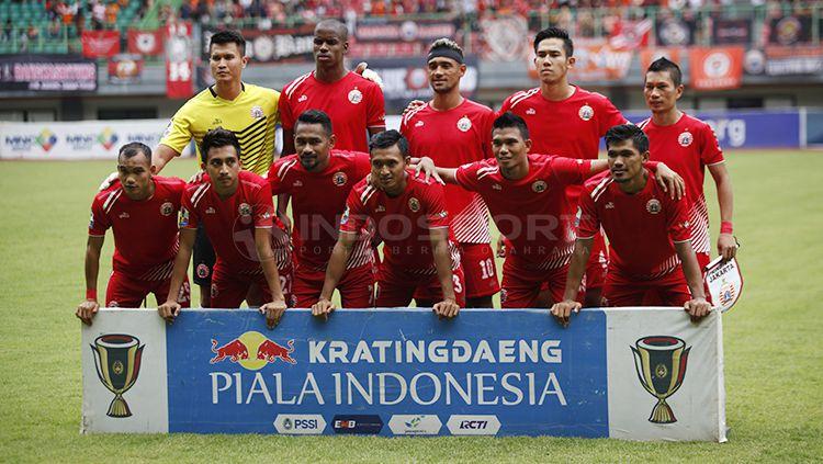 Skuat Persija Jakarta di Piala Indonesia. Copyright: © Herry Ibrahim/INDOSPORT