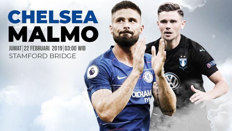 Prediksi Chelsea vs Malmo. Copyright: © INDOSPORT