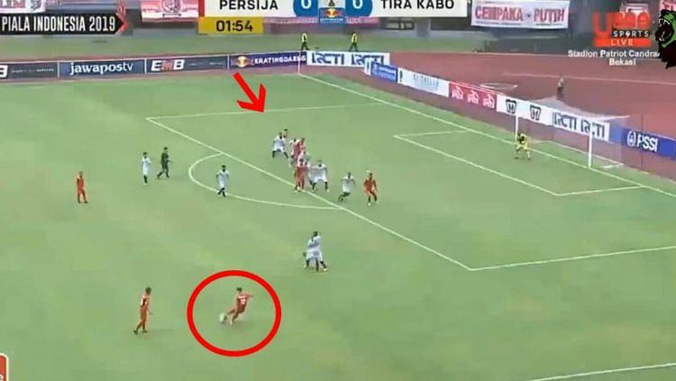Kejanggalan dalam gol Persija Jakarta Copyright: © Instagram