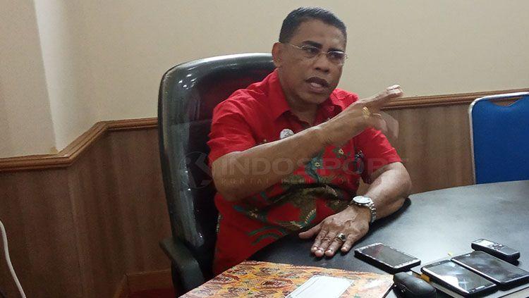 Pelaksana Tugas (Plt) Kepala Dinas Olahraga dan Para Provinsi Papua, Daud Ngabalin Copyright: © Sudjarwo/INDOSPORT