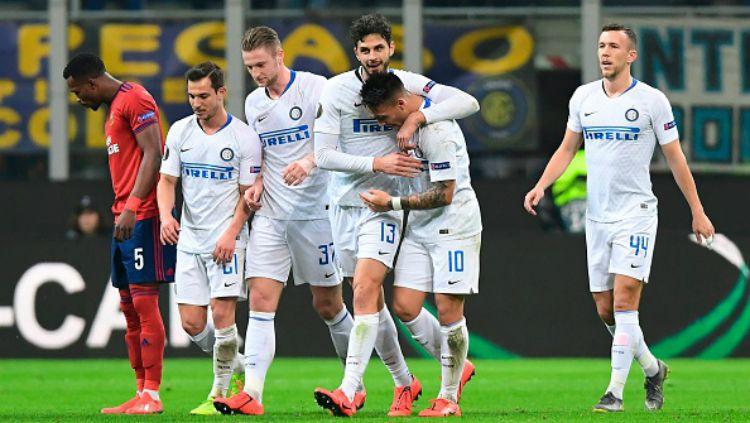 Inter Milan vs Rapid Wina, Pertandingan Liga Europa Copyright: © GettyImages