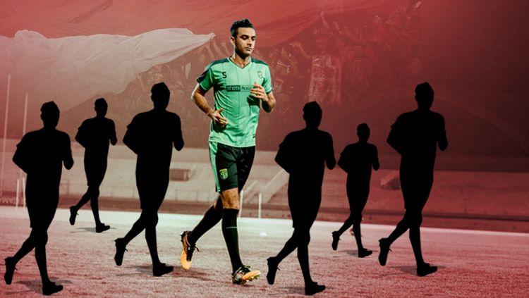 Termasuk Otavio Dutra, tujuh pemain yang menanti proses naturalisasi Copyright: © Eli Suhaeli/INDOSPORT