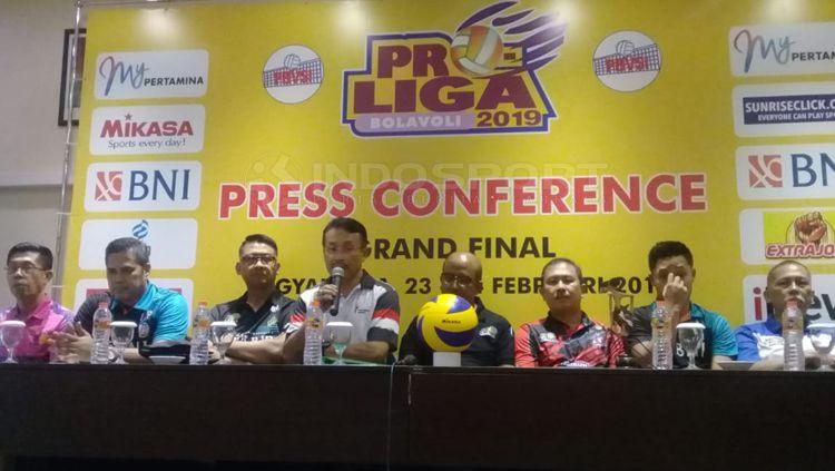 Manajer Jakarta Pertamina Putri, Widi Triyoso ingin mempertahankan gelar juara Copyright: © Ronald Seger/INDOSPORT
