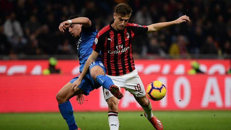 AC Milan vs Empoli. Copyright: © INDOSPORT
