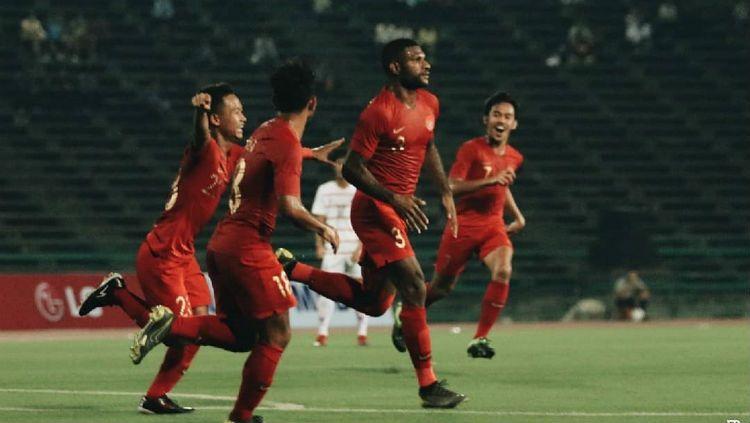Skuat Timnas Indonesia U-22. Copyright: © PSSI