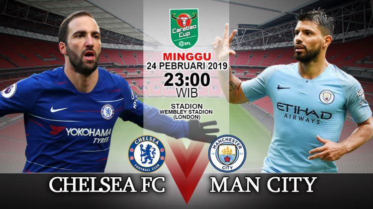 Man City Vs Chelsea 17 18: Prediksi Pertandingan Final Carabao Cup: Chelsea Vs
