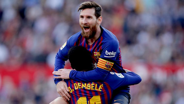 Sevilla vs Barcelona, La Liga Spanyol Copyright: © GettyImages