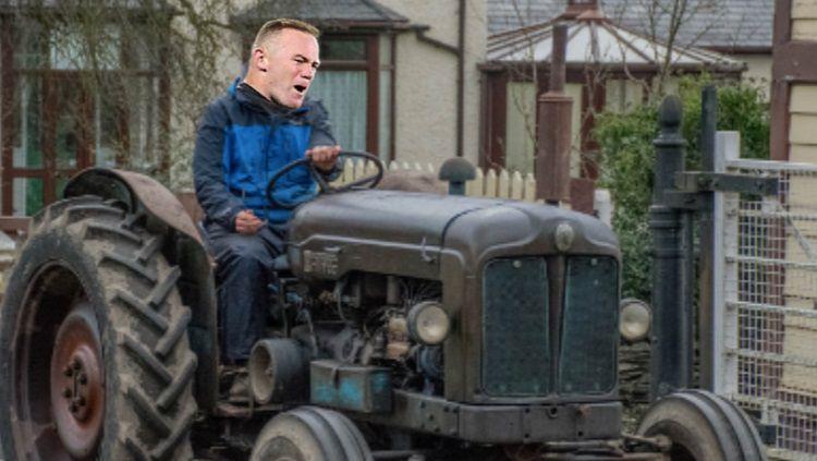 Rooney dikabarkan akan menjadi petani jika pensiun nanti Copyright: © Sport Bible