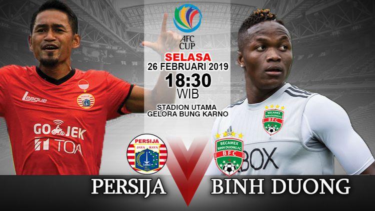 Pertandingan Persija vs Binh Duong Copyright: © INDOSPORT/Yooan Rizky Syahputra