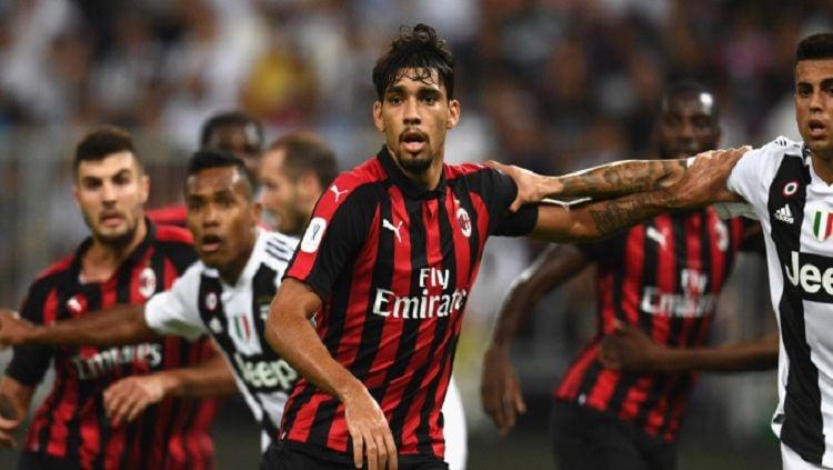 Gelandang AC Milan, Lucas Paqueta, ingin tetap setia dengan tim yang dibelanya saat ini. Copyright: © Football Planet