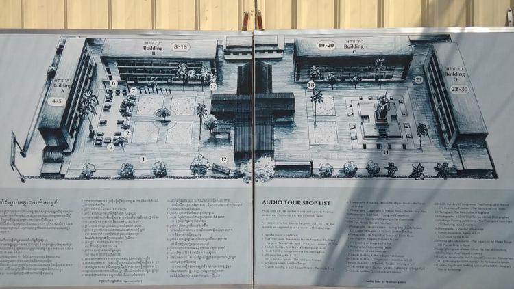 Tuol Sleng merupakan kamp penyiksaan yang menjadi saksi sejarah kelam masyarakat Kamboja Copyright: © Zainal Hasan/INDOSPORT