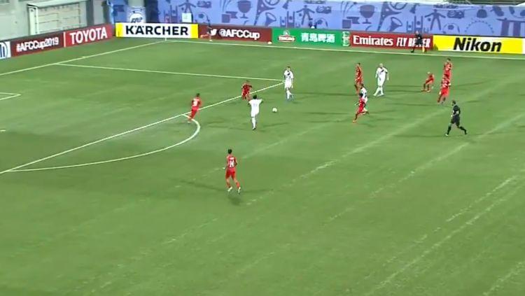 Sedih! PSM Makassar 'Dipermalukan' Media Asing Lewat Gol Home United. Copyright: © Twitter