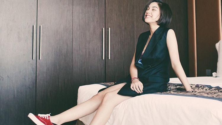 Vanesha Prescilla bintang film Dilan Copyright: © Vanesha Prescilla