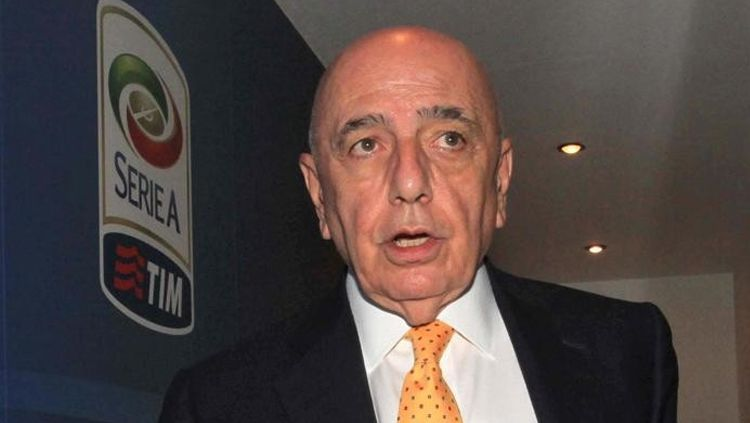Mantan CEO AC Milan Adriano Galliani Copyright: © GettyImages