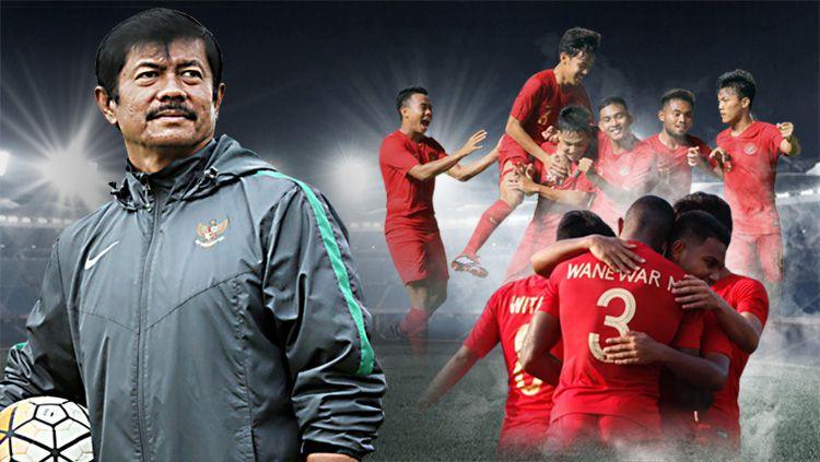 Pekerjaan besar Indra Sjafri di kualifikasi Piala Asia U-23. Copyright: © Indosport.com