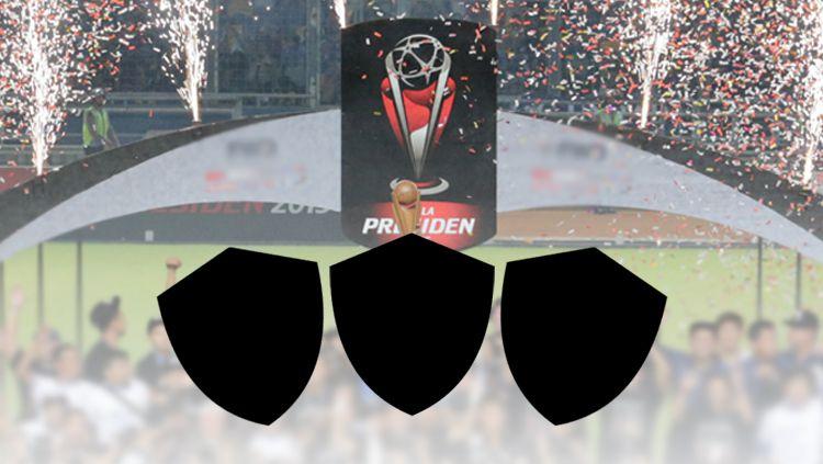 Ilustrasi tiga klub juara Piala Presiden 2019 Copyright: © INDOSPORT