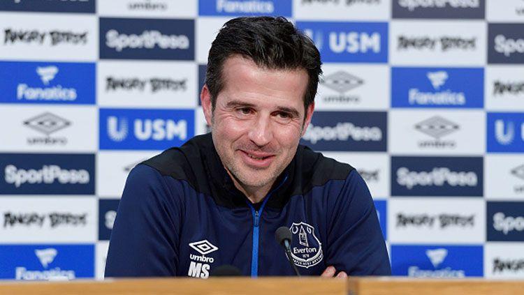 Marco Silva, pelatih Everton. Copyright: © INDOSPORT