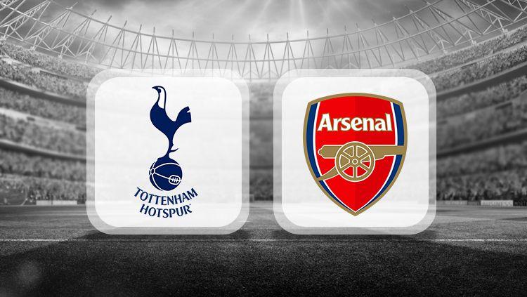 Logo Tottenham Hotspur vs Arsenal Copyright: © INDOSPORT