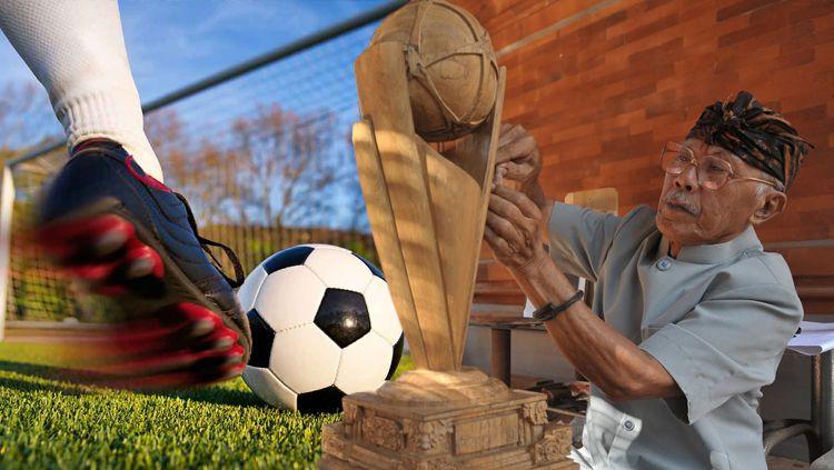 Sang pencipta ogah nonton bola hingga terbuat dari kayu Copyright: © INDOSPORT