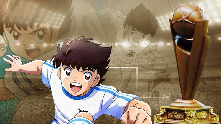 Captain Tsubasa dan Piala Presiden. Copyright: © INDOSPORT
