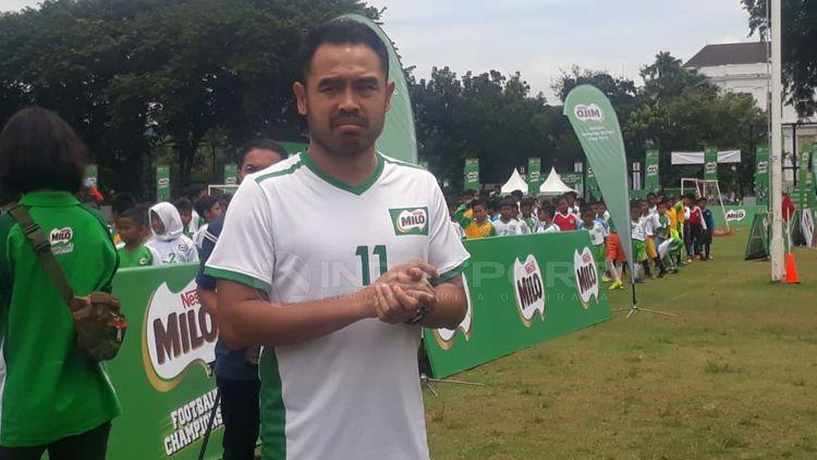 Tim pencari bakat di Milo Football Championship, Ponaryo Astaman Copyright: © Neneng Astrianti/INDOSPORT