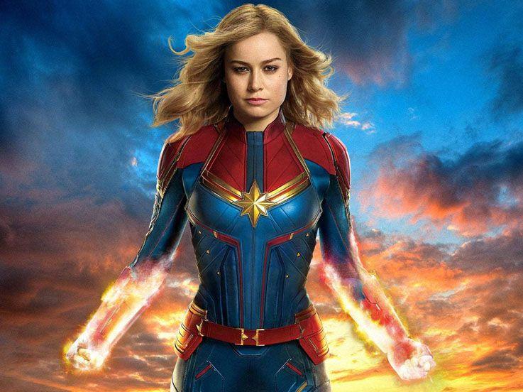 Aksi Greget Pemeran Captain Marvel Brie Larson, Angkat Besi dengan Pahanya