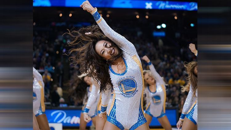 Cheerleaders Golden State Warriors Copyright: © Instagram/@gswdanceteam