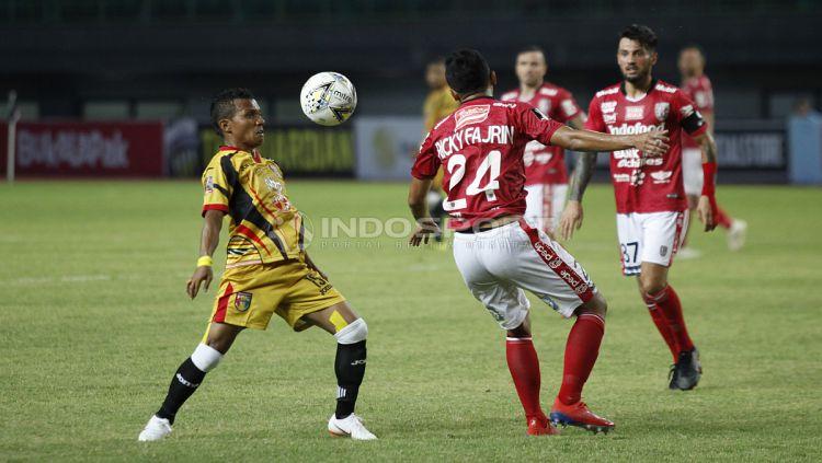 Bali United vs Mitra Kukar Copyright: © Herry Ibrahim/Indosport.com
