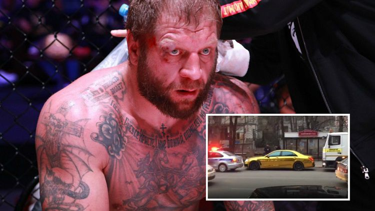 Petarung MMA asal Rusia yang menabrak 2 mobil karena mabuk Copyright: © vk.com / fc_akhmat