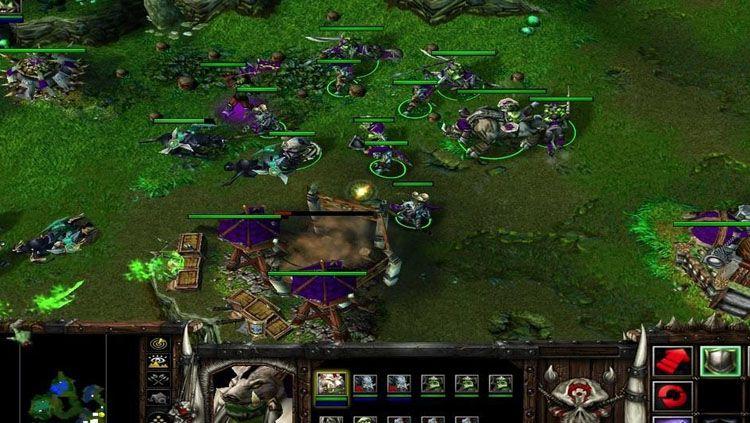 Salah satu permainan dari e-sports, Warcraft. Copyright: © Mp1st