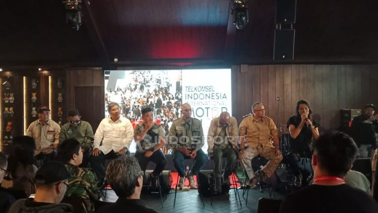 Media Gathering Telkomsel Indonesia International Motor Show (IIMS) 2019. Copyright: © Shintya Anya Maharani/Indosport.com