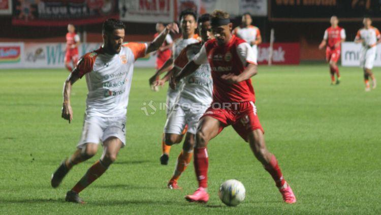 Pertandingan Persija Jakarta vs Borneo FC. Copyright: © Ronald Seger Prabowo/Indosport.com