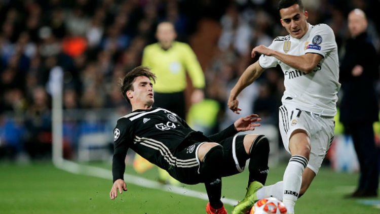 Real Madrid vs Ajax Amsterdam. Copyright: © INDOSPORT