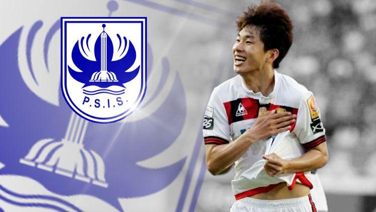 Cho Chan Ho gelandang Korea Selatan calon pemain PSIS Semarang Copyright: © INDOSPORT