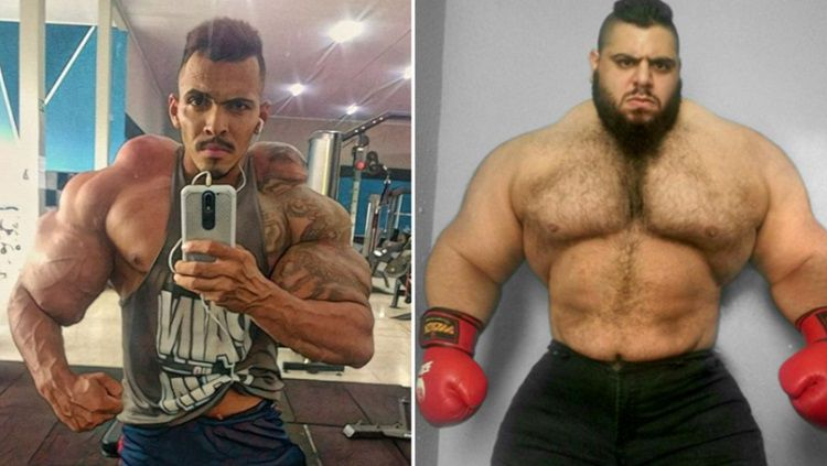 Dua petarung MMA yang di juluki Hulk Copyright: © Sport Bible