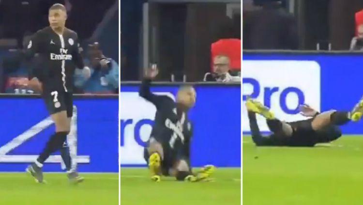 Mbappe Terkapar Usai PSG Takluk Dari Manchester United Copyright: © twitter