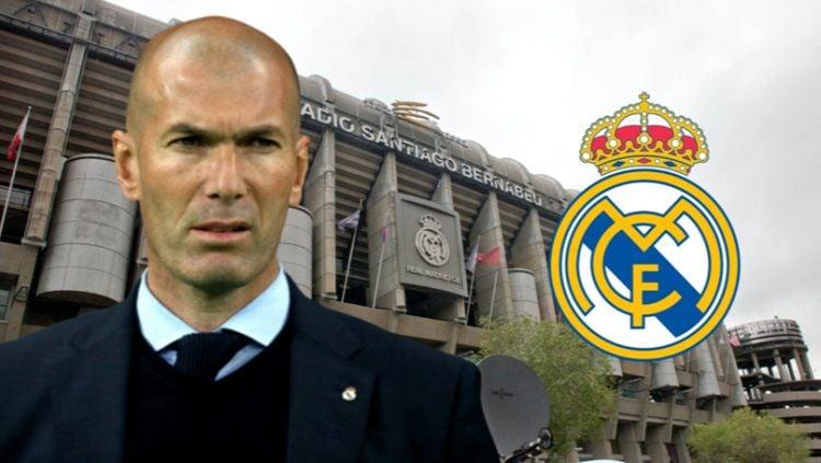 Zidane dikabarkan telah menolak untuk kembali ke Real Madrid Copyright: © Sport Bible