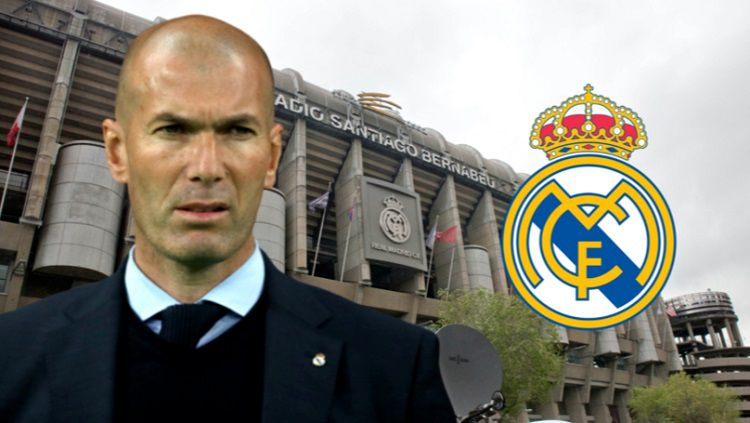 Karier Zinedine Zidane di Real Madrid kini dipertanyakan mengingat hasil buruk yang dialami Los Blancos belakangan ini. Copyright: © Sport Bible