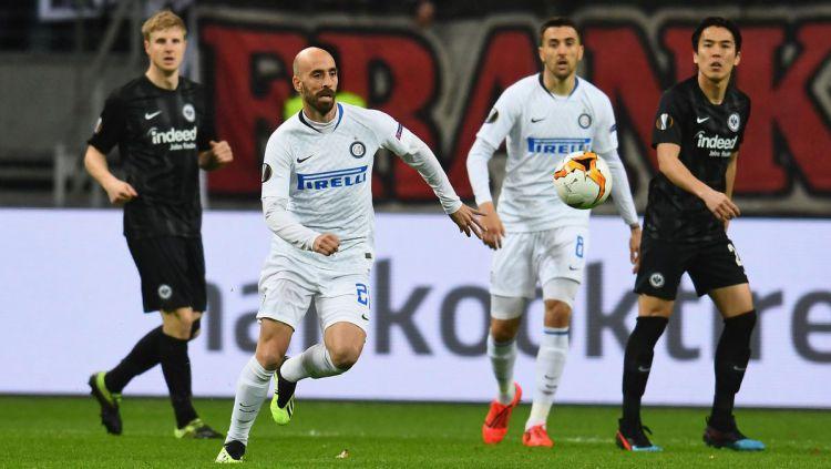 Frankfurt vs Inter Milan Copyright: © Twitter