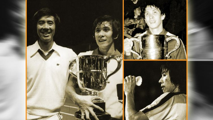 Mengenang 'Civil War' Liem Swie King vs Rudy Hartono di All England 1978. Copyright: © Indosport.com