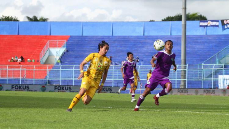 Pemain Barito Putera, Gavin Kwan. Copyright: © Ian Setiawan/Indosport.com