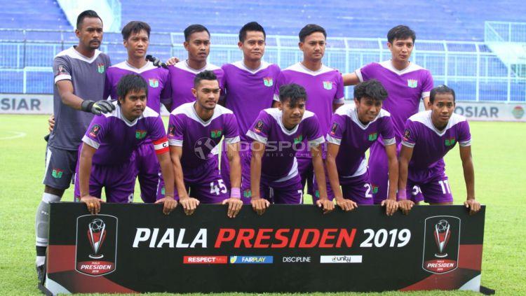 Skuat Persita Tangerang di Piala Presiden 2019. Copyright: © Ian Setiawan/Indosport.com