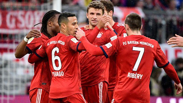 Skuat Bayern Munchen. Copyright: © INDOSPORT