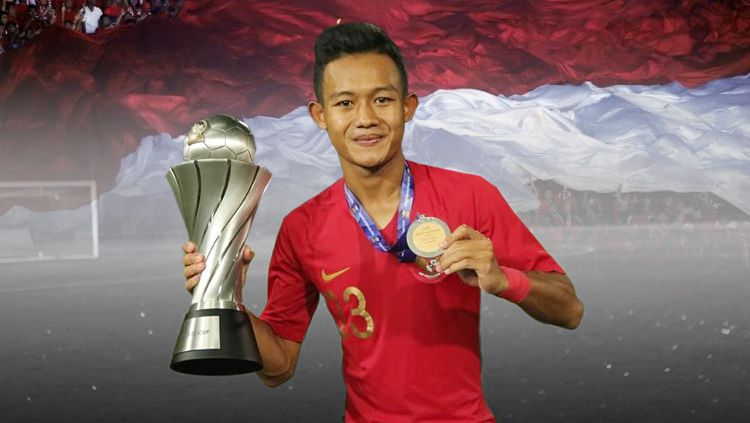 Gelandang Timnas Indonesia U-22 , Sani Rizki Fauzi Copyright: © INDOSPORT