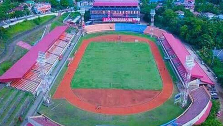 Stadion Mandala, kandang Persipura Jayapura. Copyright: © Galery_Persipura