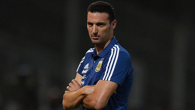 Lionel Scaloni, pelatih Timnas Argentina. Copyright: © INDOSPORT