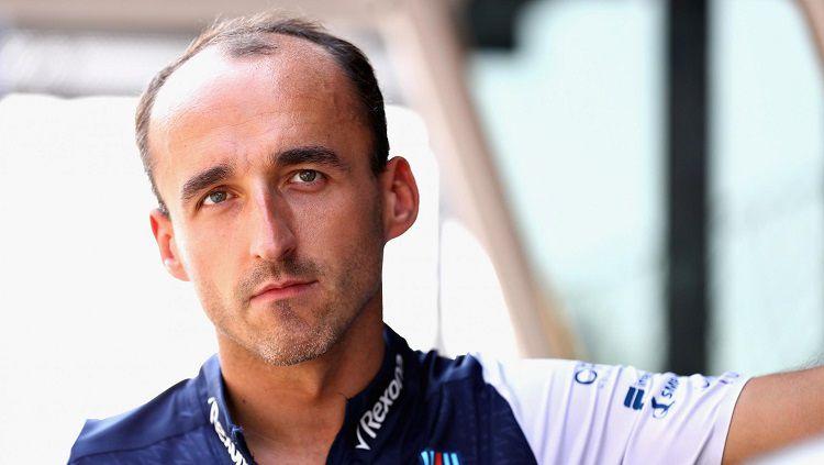Robert Kubica jadi pembalap Williams Racing untuk musim 2019. Copyright: © standard.co.uk