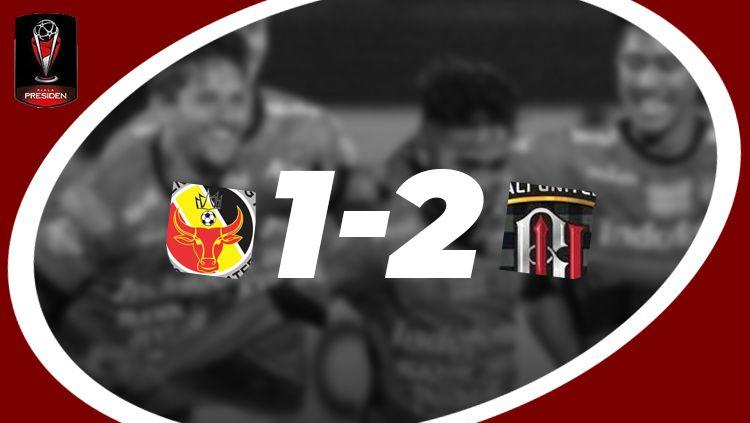 Hasil pertandingan Semen Padang vs Bali United Copyright: © INDOSPORT