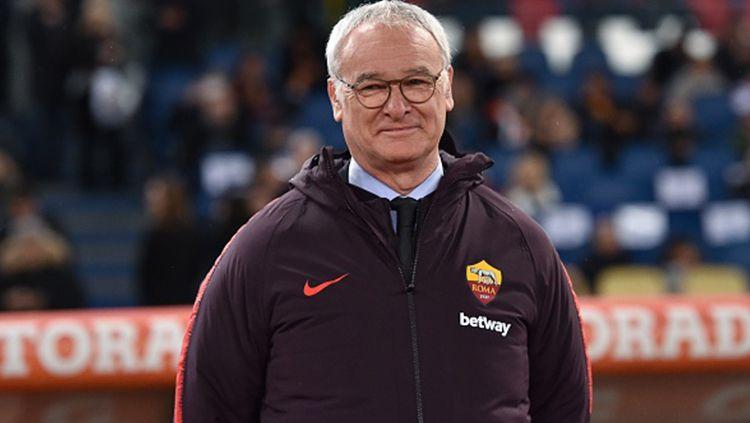 Pelatih baru Sampdoria, Claudio Ranieri, buka suara jelang laga melawan AS Roma pada lanjutan pekan ke-8 Serie A Italia, Minggu (20/10/19). Copyright: © Getty Images